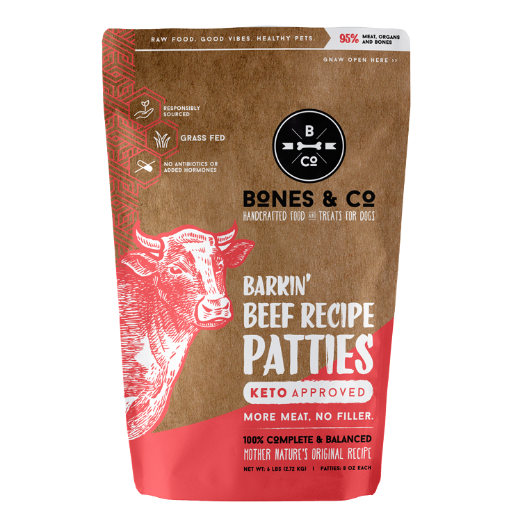 Bones & Co beef patties