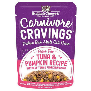 Stella & Chewys Carnivore Cravings Tuna and Pumpkin 2.8oz