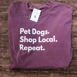 Modern Companion - Pet Dogs. Shop Local. Repeat. ™	T-Shirt