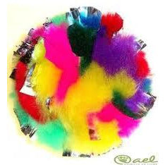 fuzz ball multi color