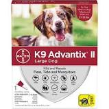 K9 Advantix 2 large dog 21-55lb 4 pack