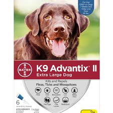 K9 Advantix 2 xl dog 55lb+ 4 pack