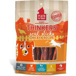 Plato dog thinkers chicken