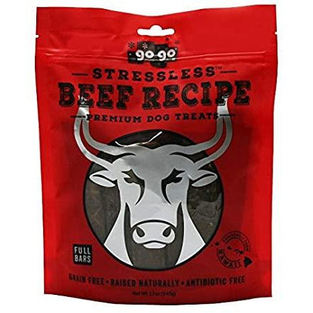 Gogo beef jerky dog training treat 3oz