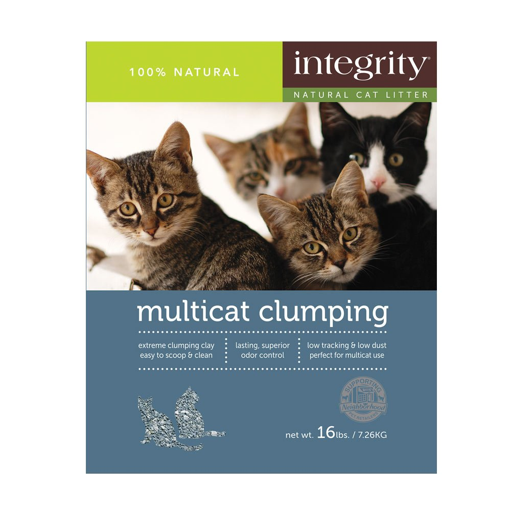 Integrity multi cat litter
