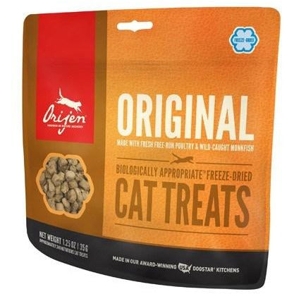Orijen Cat Freezedried original treats 1.25oz