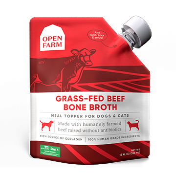 Open Farm Beef Bone Broth 12oz