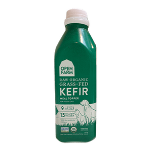 Open Farm kefir raw organic grass fed