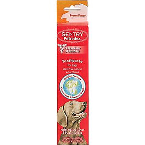 Sentry Pedtrodex peanut butter toothpaste 2.5oz