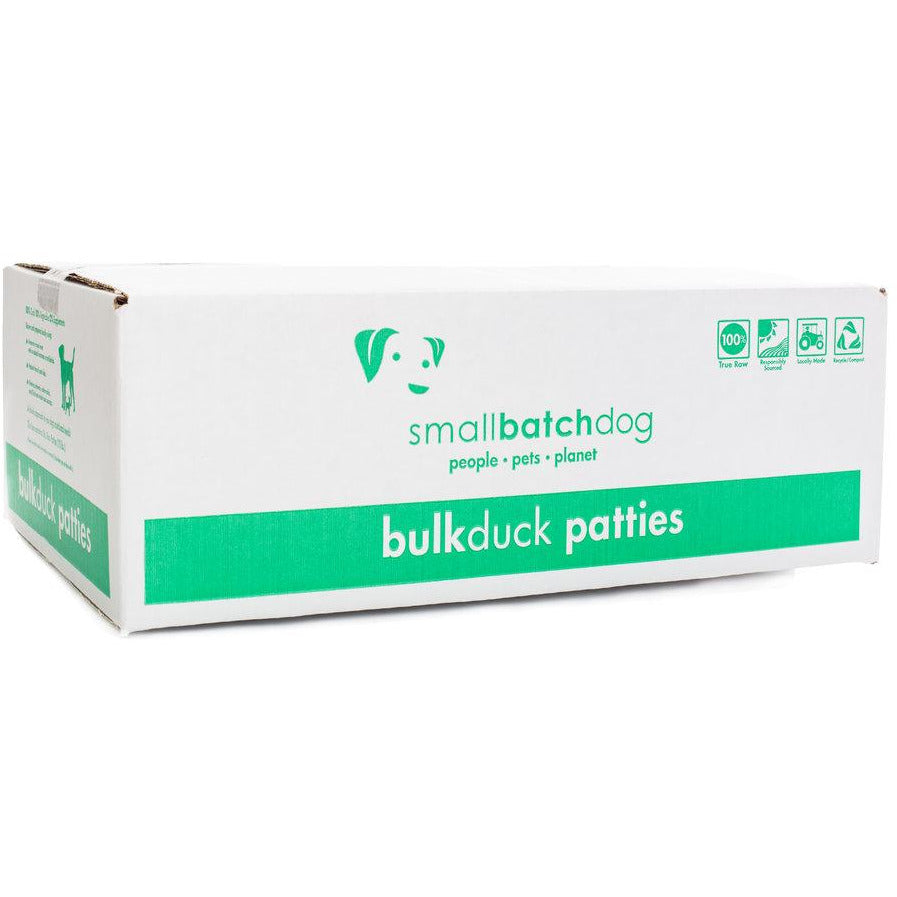 Smallbatch bulk box duck frozen for dogs