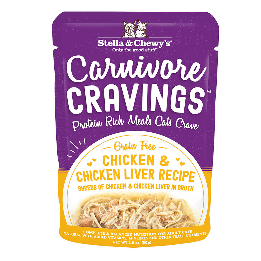 Stella & Chewys Carnivore Cravings Chicken and Liver 2.8oz