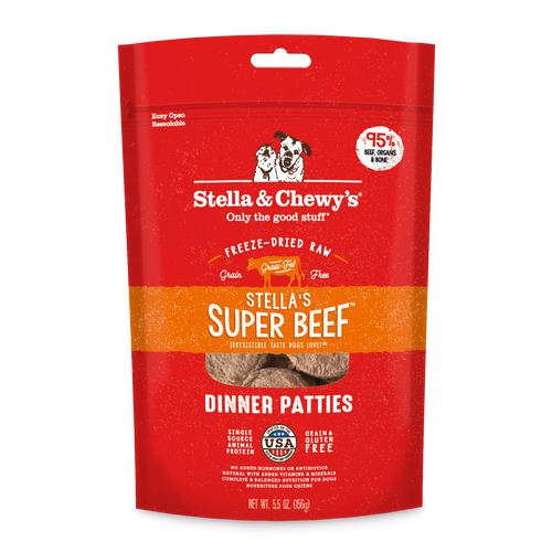 Stella and chewys freezedried beef for dogs