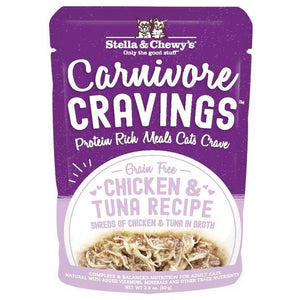 Stella & Chewys Carnivore Cravings Chicken and Tuna 2.8oz