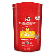Stella & Chewys Frozen Chicken for dogs