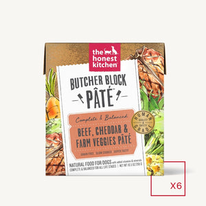 The Honest Kitchen Dog Beef Pate Tetra Pack 10.5oz