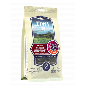 Ziwi Peak Venison Lung & Kidney Treat 2.1oz