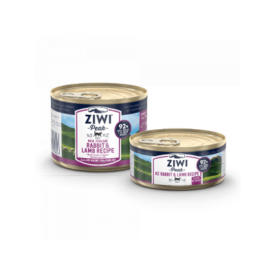 Ziwi Peak Canned cat rabbit & lamb 3oz