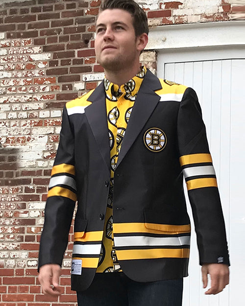 Boston Bruins - Men's Jersey Blazer