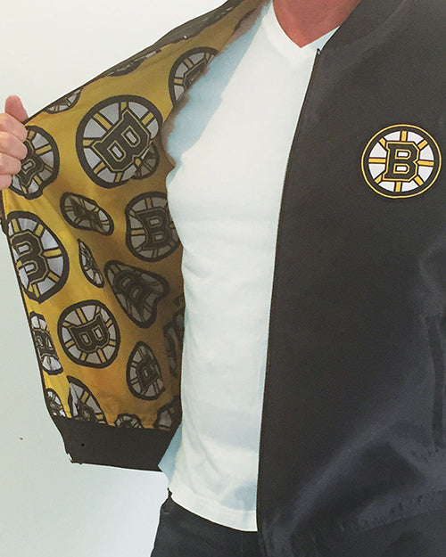Boston Bruins - Men's Reversible Bomber