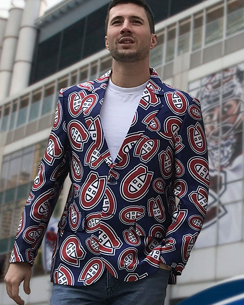Montreal Canadiens - Men's All Over Print Blazer