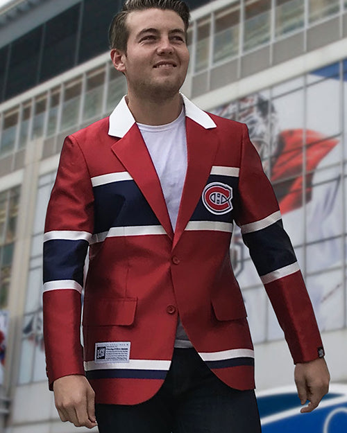 Montreal Canadiens - Men's Jersey Blazer