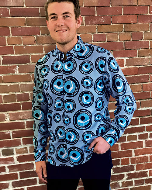 HNIC - Men's All Over Print Dress Shirt