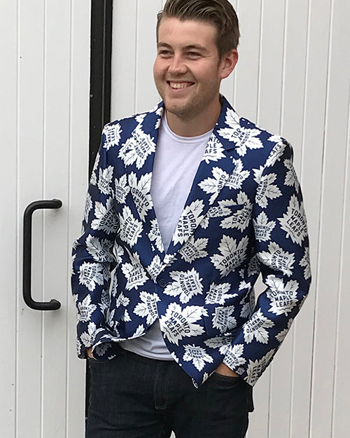 Toronto Maple Leafs - Men's All Over Print Blazer