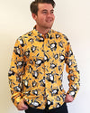 Pittsburgh Penguins - Men's All Over Print Blazer