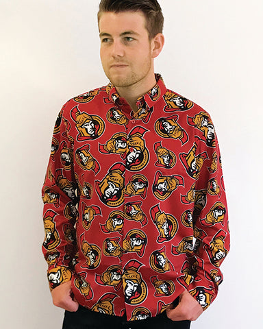 Ottawa Senators - Men's All Over Print Blazer