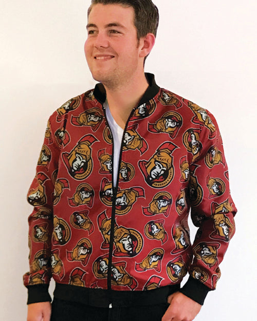 Ottawa Senators - Men's Reversible Bomber