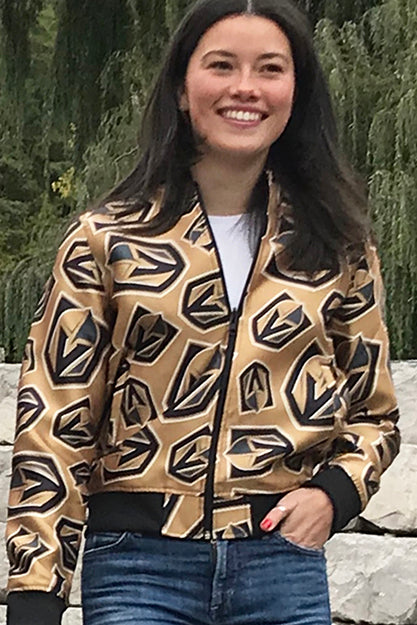 Vegas Golden Knights - Ladies All Over Print Bomber