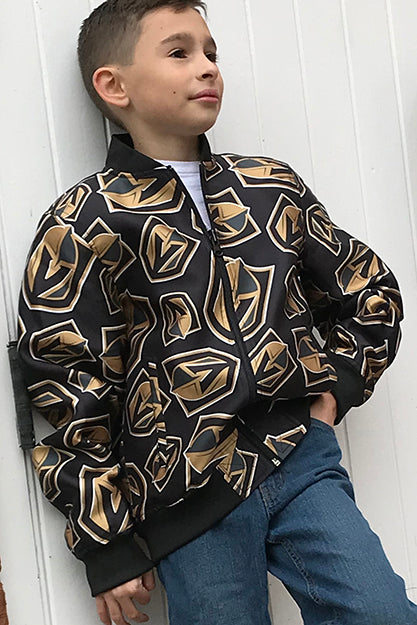 Vegas Golden Knights - Youth All Over Print Bomber