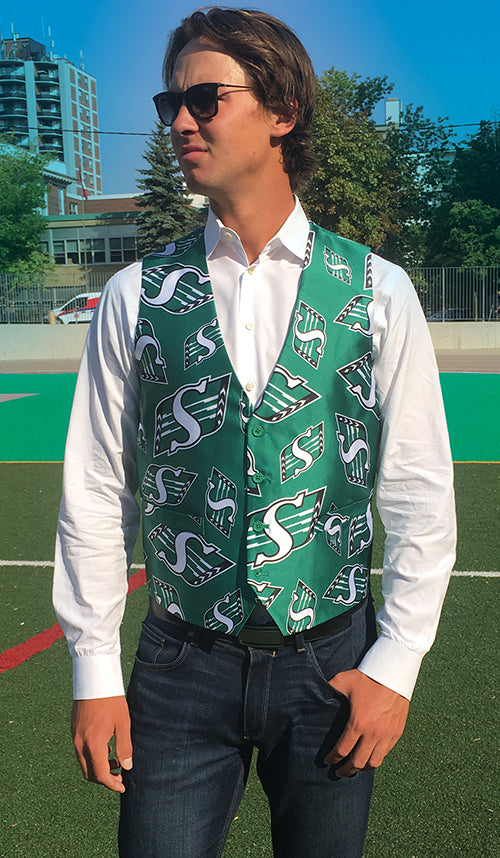 Saskatchewan Roughriders - Men's All Over Print Vest