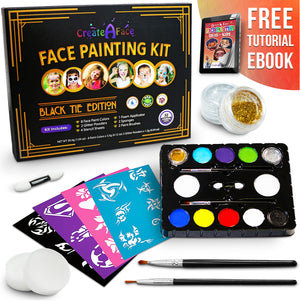 Face Painting Set (Black Tie Edition)