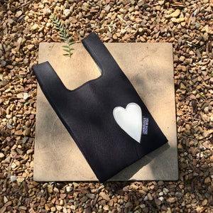 Upcycled Urban Shopper - BLACK BABY