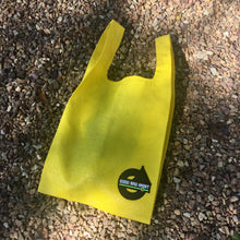 Load image into Gallery viewer, Upcycled Urban Shopper - GOOD BAG HABIT YELLOW
