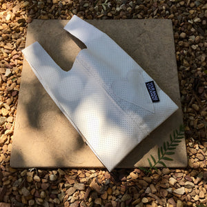 Upcycled Urban Shopper - WHITE BABY