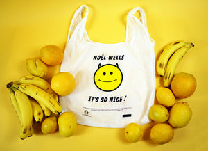 """It's So Nice!"" reusable bodega tote"