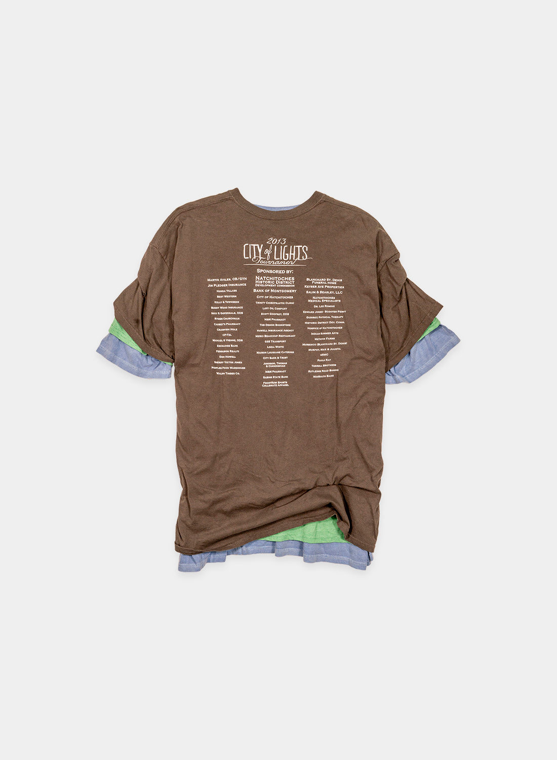 Overlaid Triple T-Shirts
