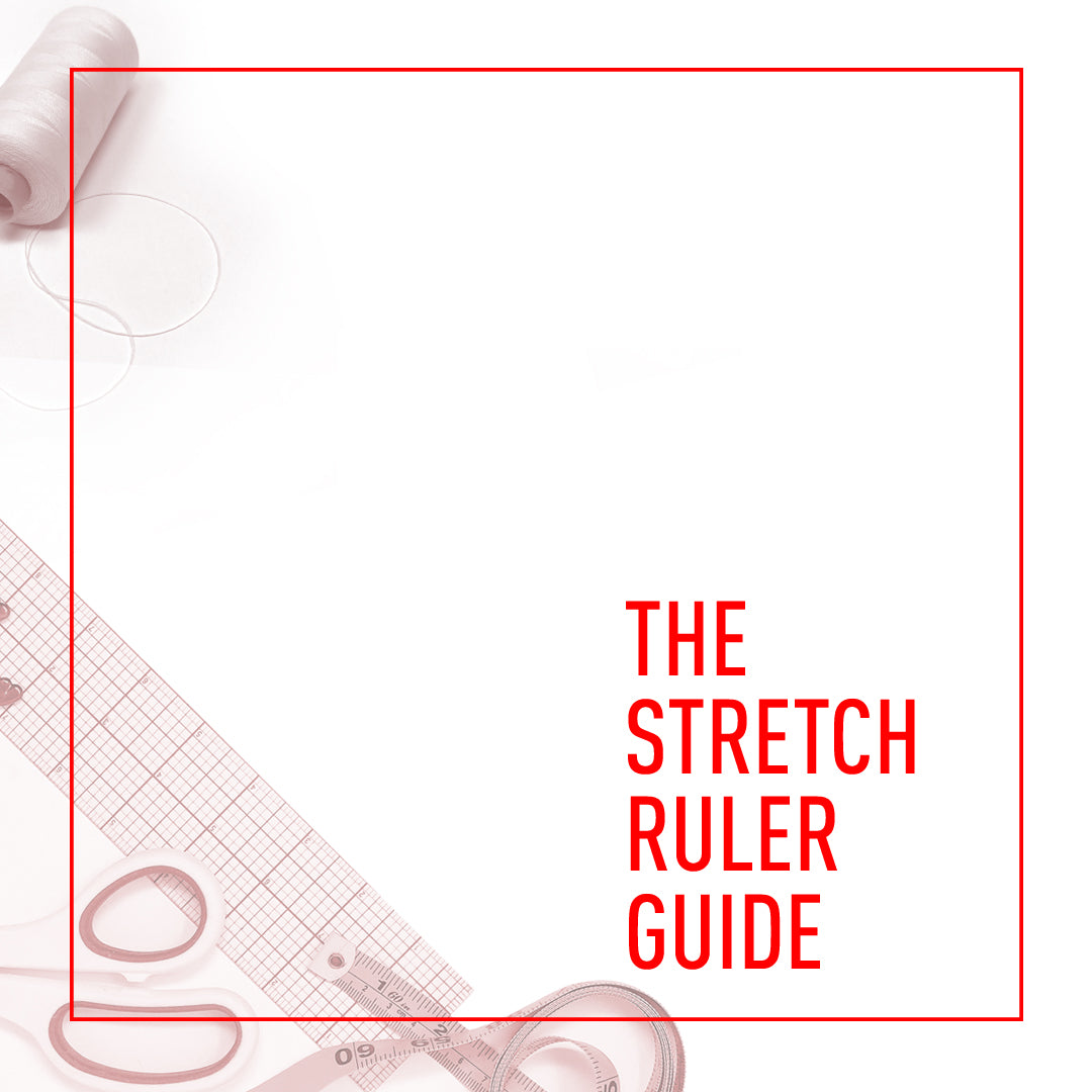 Stitch Love Studio- Pattern Guide- Stretch Ruler Header