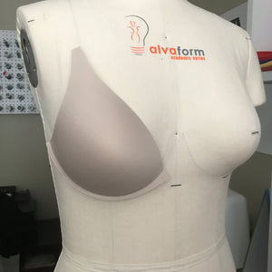 Cups & Underwires - Molded Contoured Bra Cups With Concealed Flex Underwire- Sizes 32-38