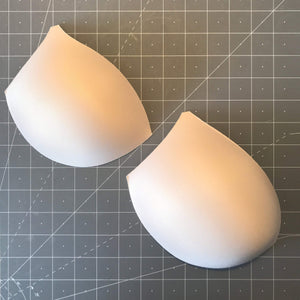 Cups & Underwires - Push Up Molded Contoured Bra Cups- Sizes 32-40