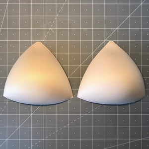 Cups & Underwires - Triangle Bra Cup Inserts- Sizes 34-40