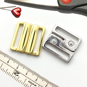 "Hardware & Fasteners - 1"" (25mm) Metal Front Closures"