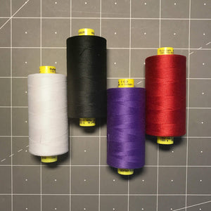 Notions - Gutermann Mara 100, All Purpose Thread. 1,093 Yd Spools