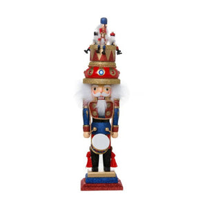 "20"" Music Box Hat Nutcracker"