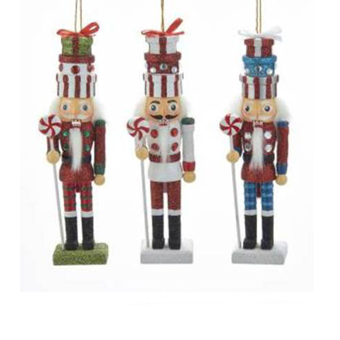 Nutcracker Gift Box Hat Ornament