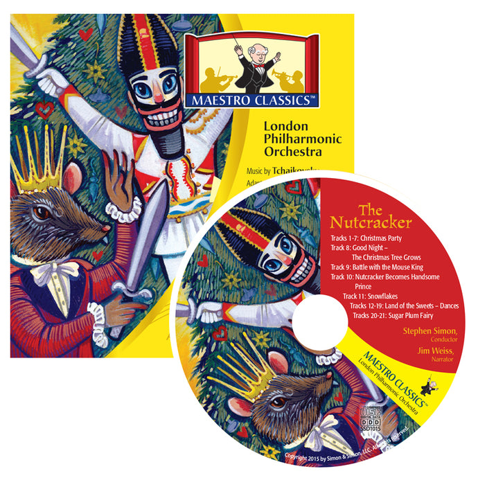 The Nutcracker Stories In Music CD