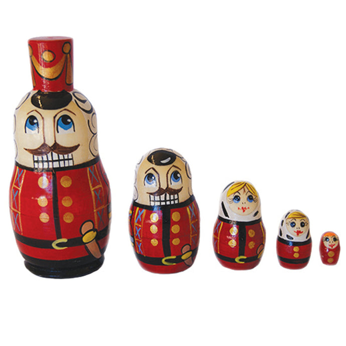 Large Nutcracker Nesting Dolls