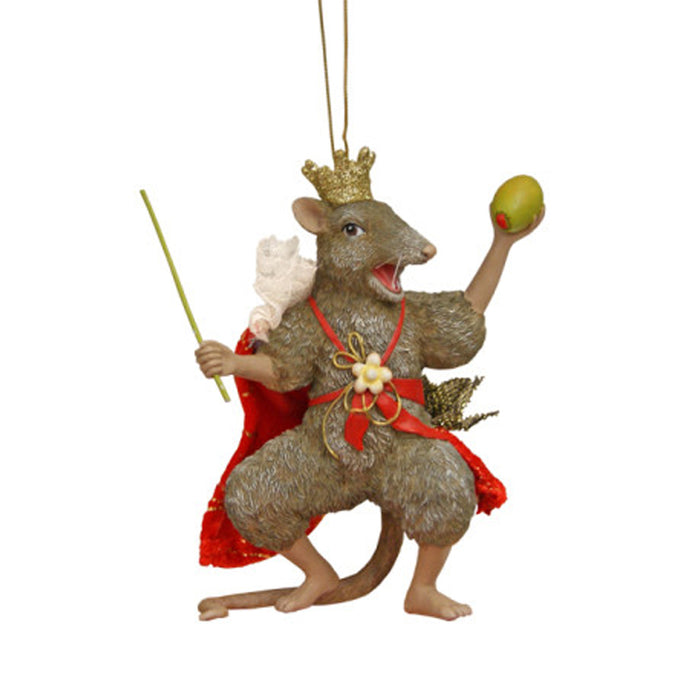 Nutcracker Mouse King Ornament